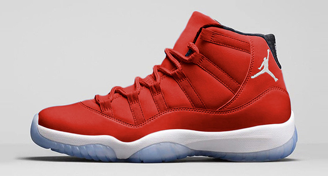 """The Air Jordan 11 """"Gym Red"""" gets a release date"""
