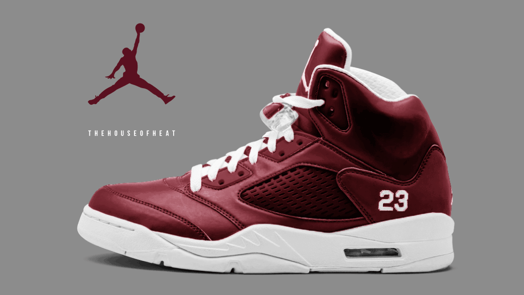 "The Daily Concept – Air Jordan 5 ""Maroon"""