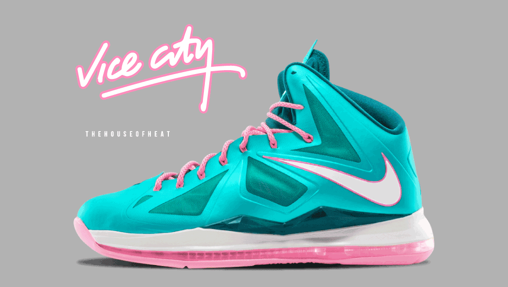 """The Daily Concept – LeBron X """"Vice City"""""""