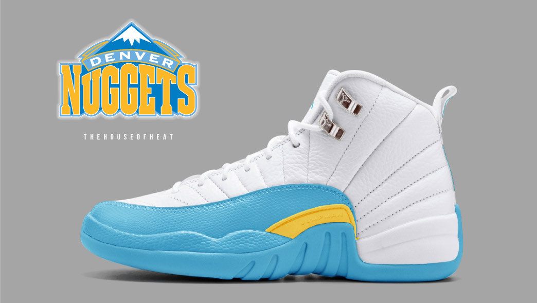 """The Daily Concept – Air Jordan 12 """"Nuggets"""""""