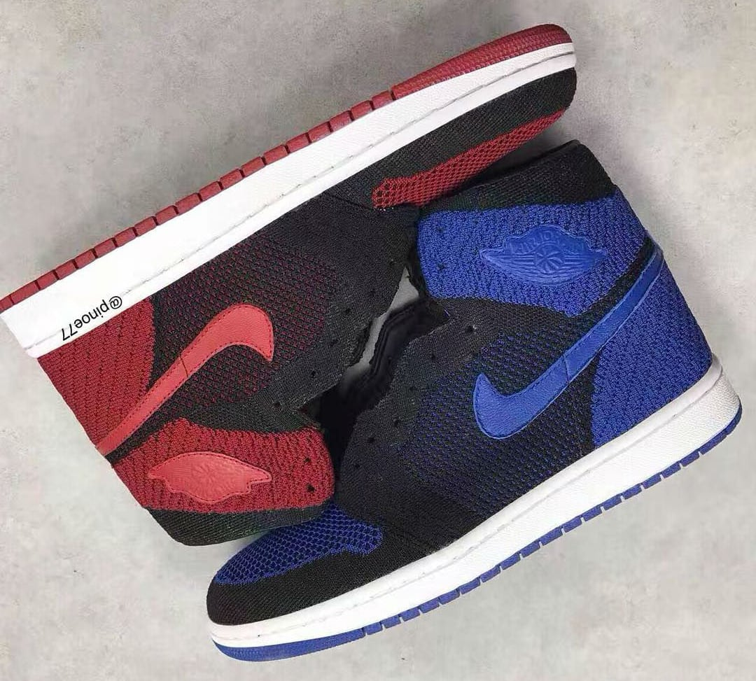 There's another ugly Flyknit Jordan 1 in Royal