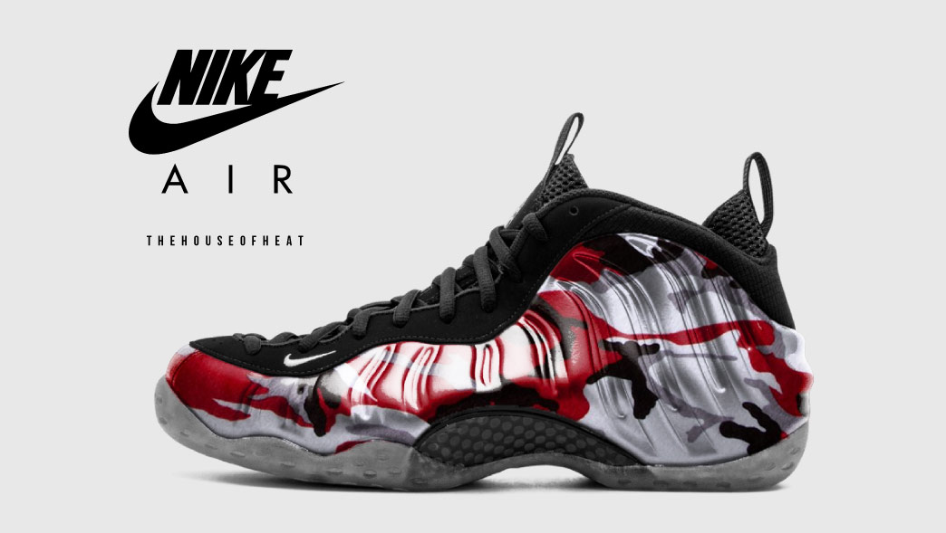 "The Daily Concept – Nike Air Foamposite One ""Red Camo"""