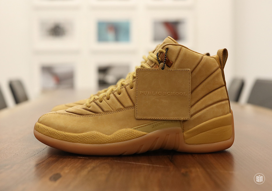 """PSNY are heating up Summer with the Air Jordan 12 """"Wheat"""""""