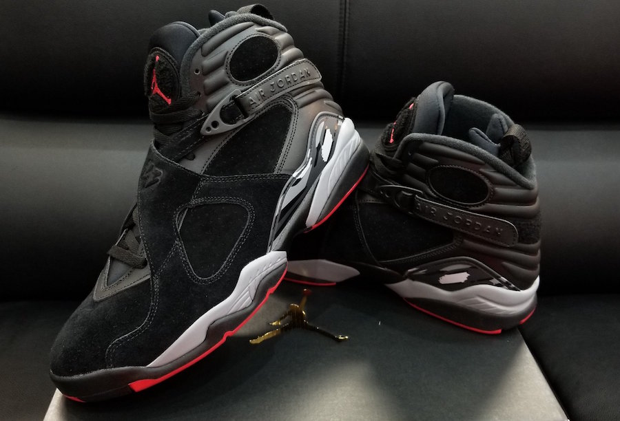 """Another look at the """"Cement"""" Jordan 8"""