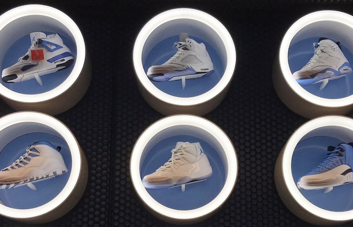 UNC and the Hoyas show off their PE collections