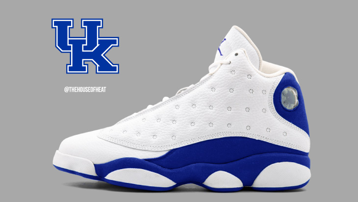 "Today's Concept : Air Jordan 13 ""Kentucky Home"""