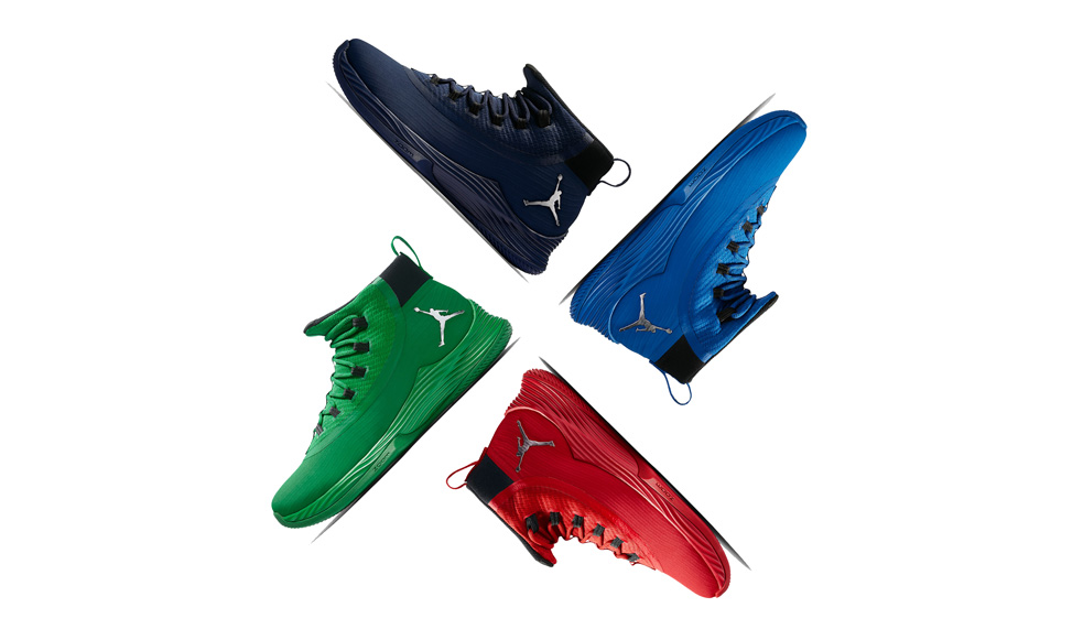 Four tonal colorways for the Ultra Fly 2 just released