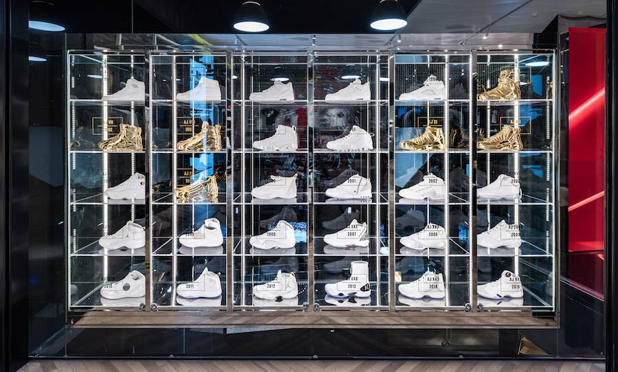 Inside Asia's newest (and biggest) Jordan Store