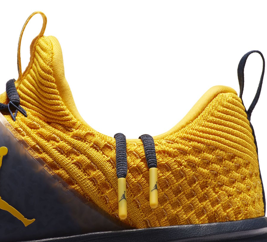 A second Jordan College colorway hits the Flyknit Trainer 2