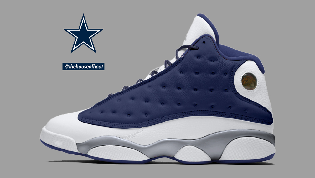 "Today's Concept : Air Jordan 13 ""Cowboys"""