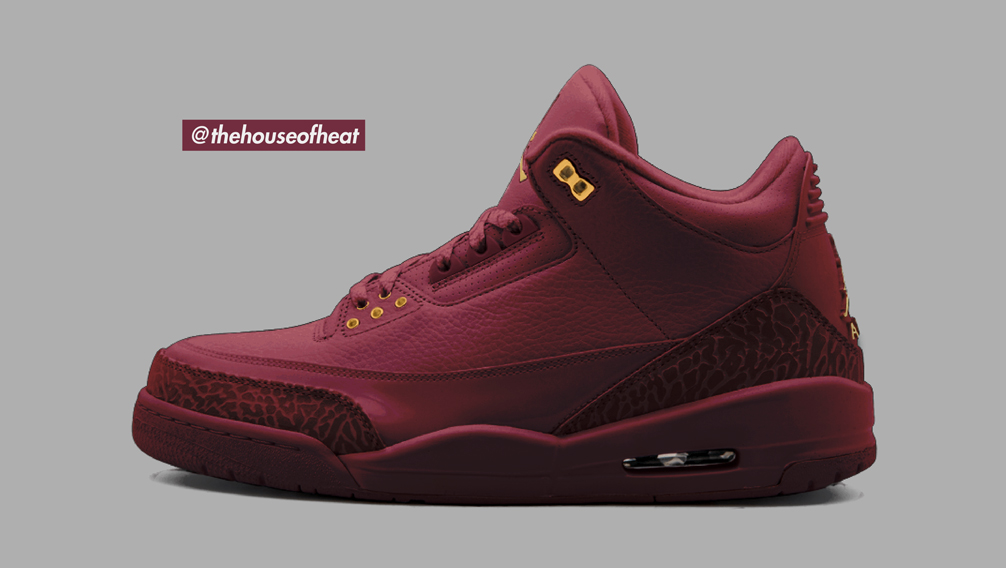 """Today's Concept : Air Jordan 3 """"Red Wine"""""""