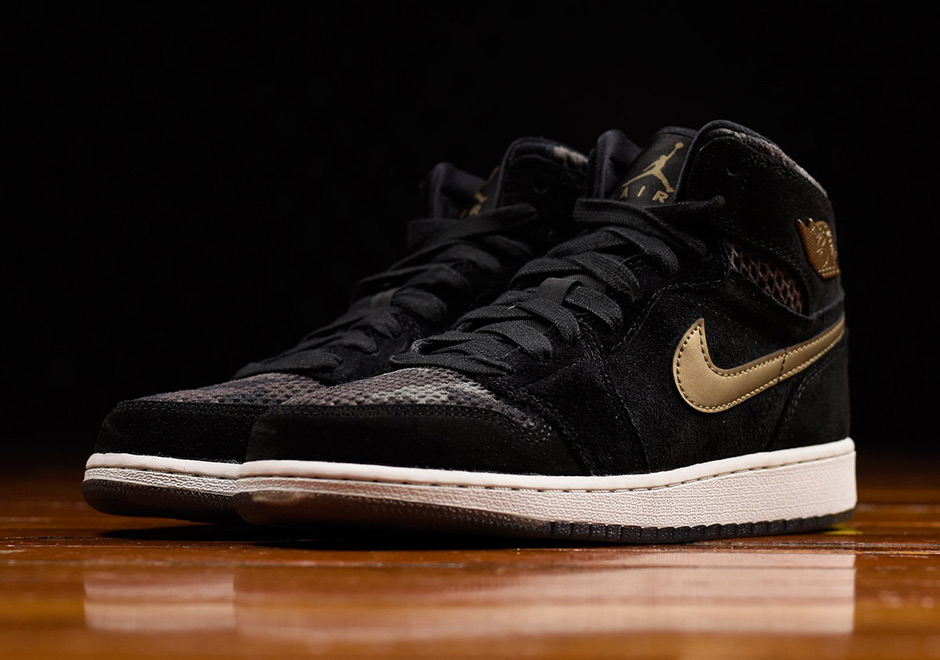 The Camo Heiress Air Jordan 1 is available now