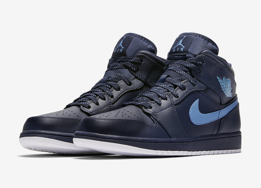 There's another Obsidian Jordan 1 Mid on the way