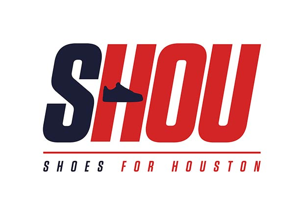 Donate your kicks to help those in Houston