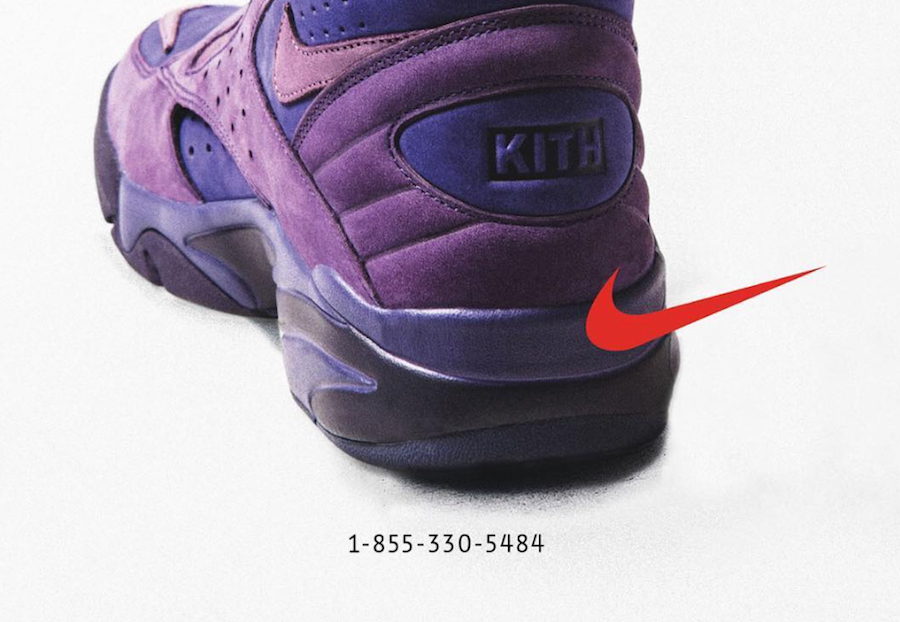 KITH x Pippen throwback to the classic phone number ads