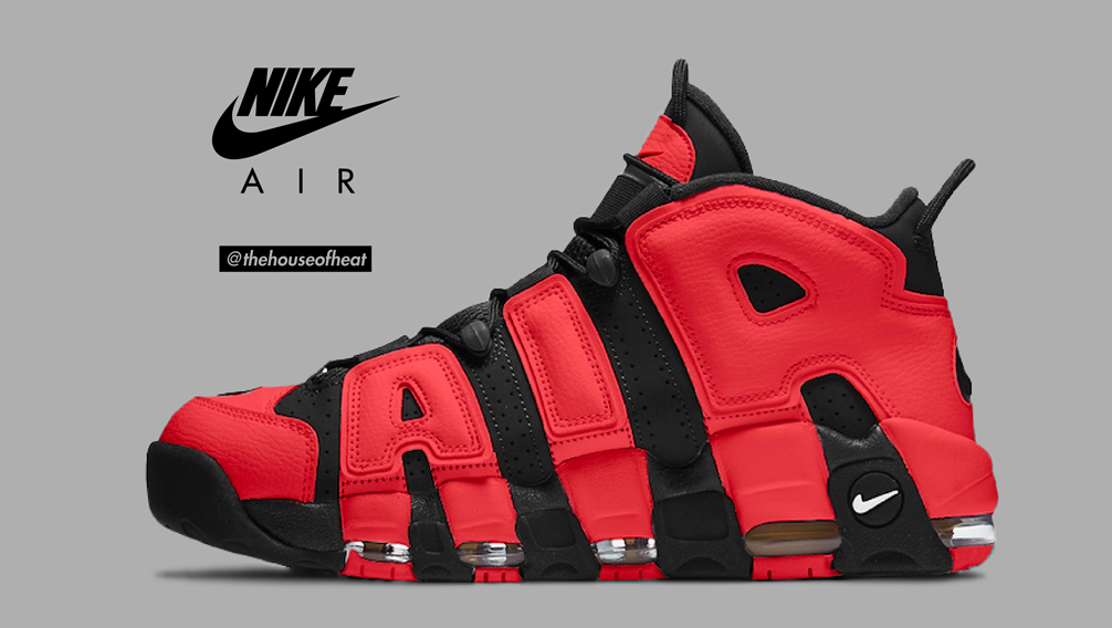 "Today's Concept : Nike Air More Uptempo ""Infrared"""