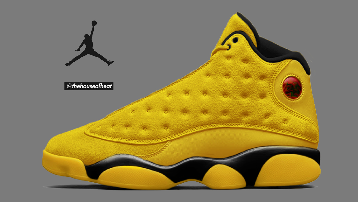 "Today's Concept : Air Jordan 13 ""Kill Bill"""