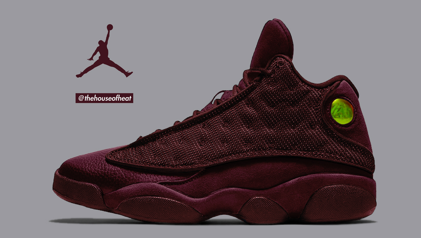 "Today's Concept : Air Jordan 13 ""Bordeaux"""