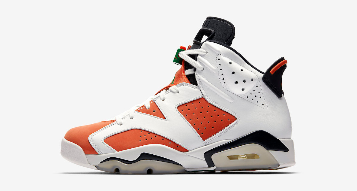 Official images of the Gatorade Jordan 6 are here