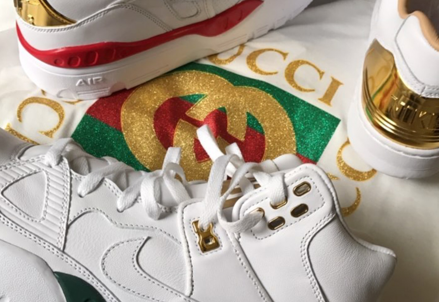 Don C unveils Gucci-inspired Air Forces