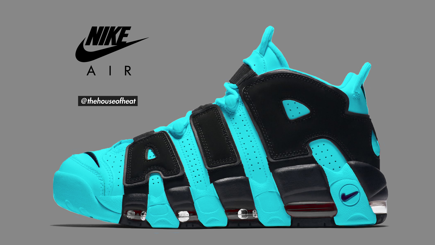 "Today's Concept : Nike Air More Uptempo ""Gamma"""