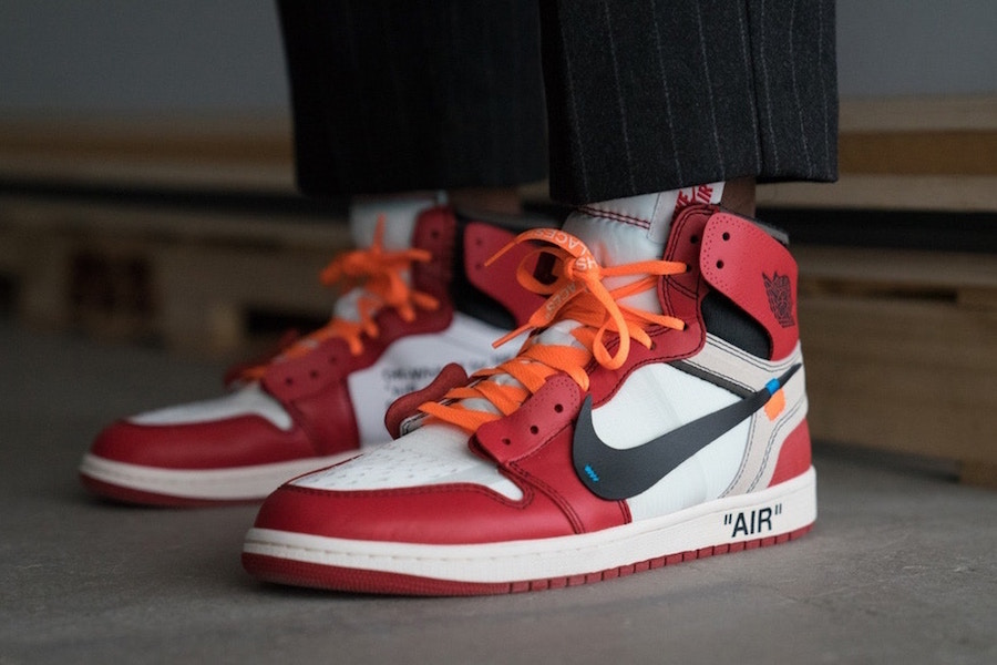 Vigil Abloh's OFf-White x Air Jordan 1 wins Shoe of the Year