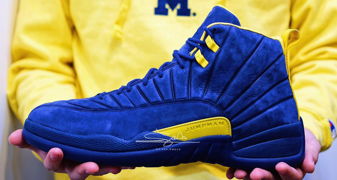 "Are we getting a release of the PSNY x Air Jordan 12 ""Michigan""?"