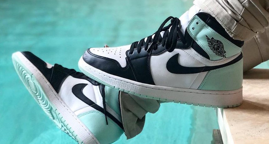 There's another pastel colorway hitting the Air Jordan 1