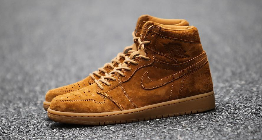 "The ""Wheat"" Air Jordan 1 releases today"