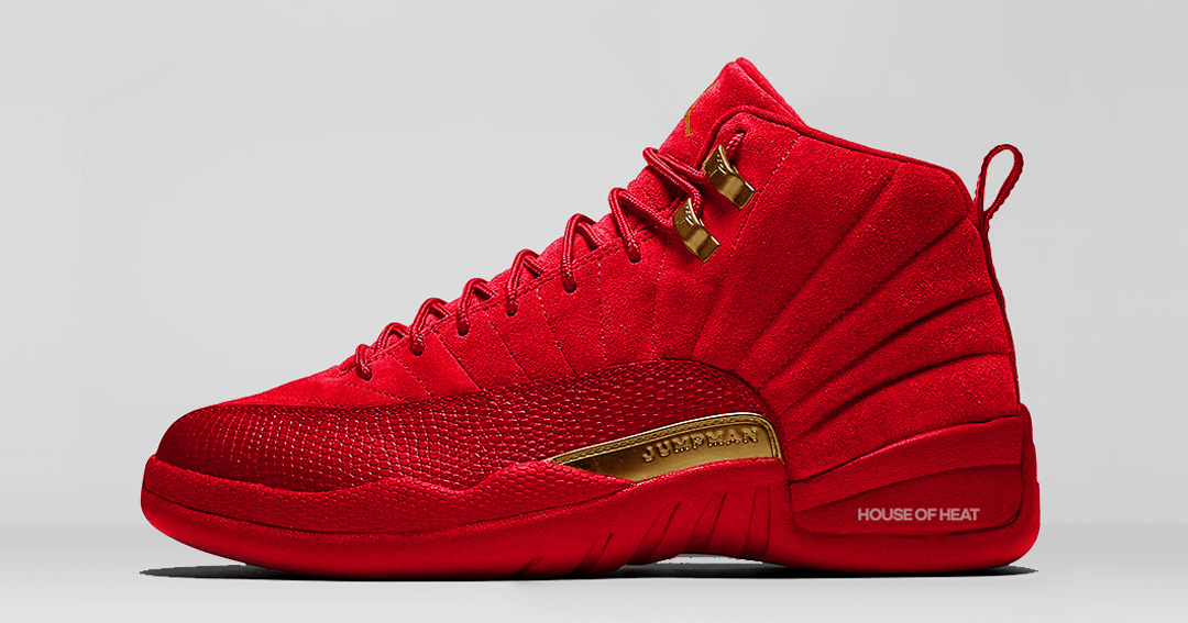 "The Concept Lab : Air Jordan 12 ""Red Suede"""