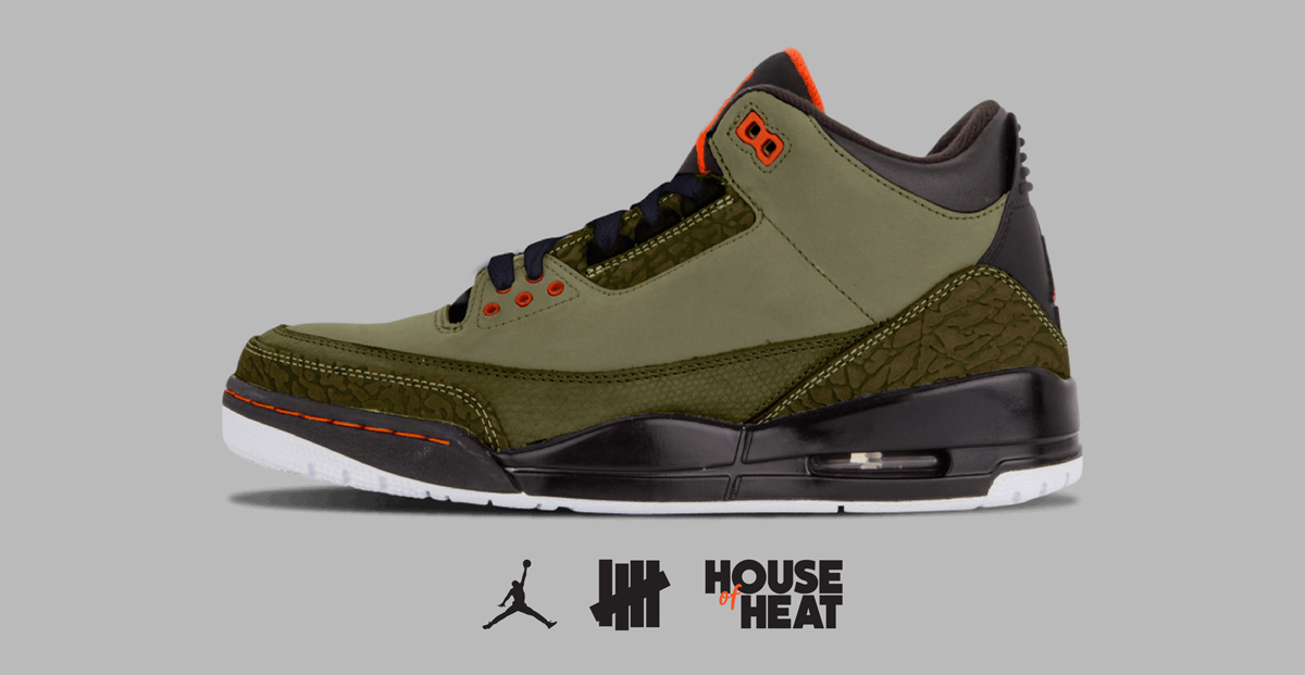 """The Concept Lab : Air Jordan 3 """"Undefeated"""""""