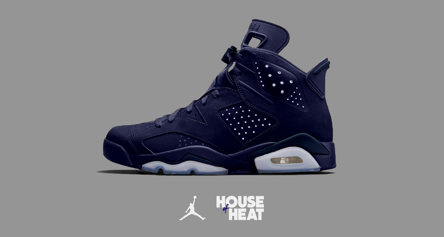 "The Concept Lab : Air Jordan 6 ""Dark Navy"""
