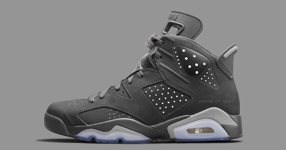 The Concept Lab // Air Jordan 6 'Wolf Grey'