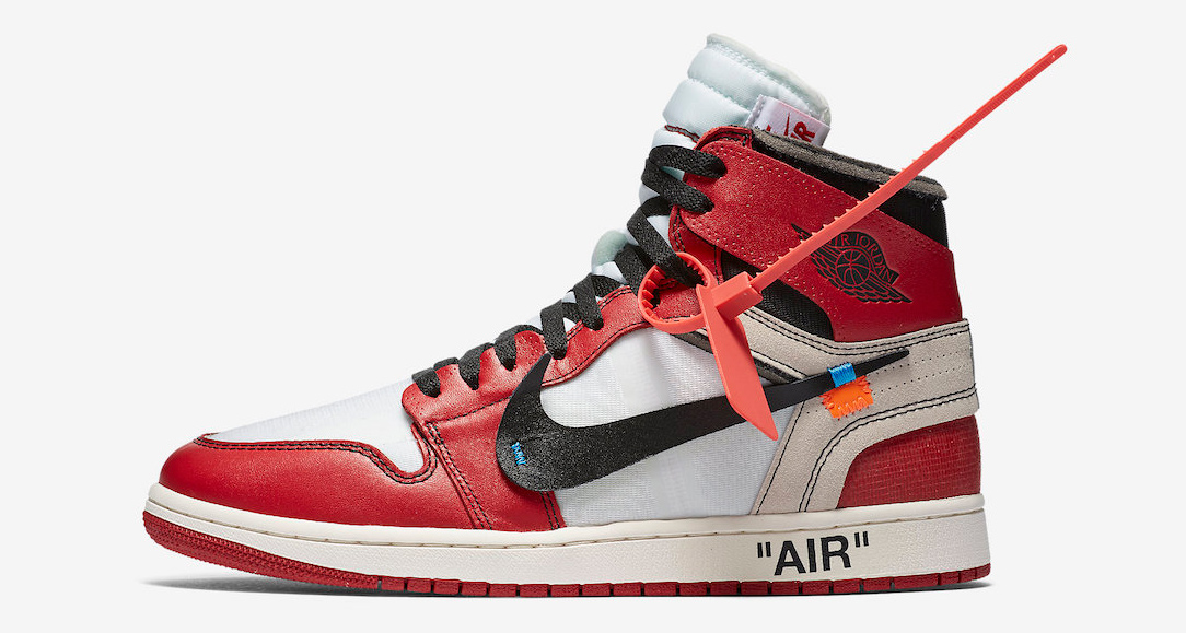 A detailed look at the Off-White x Air Jordan 1