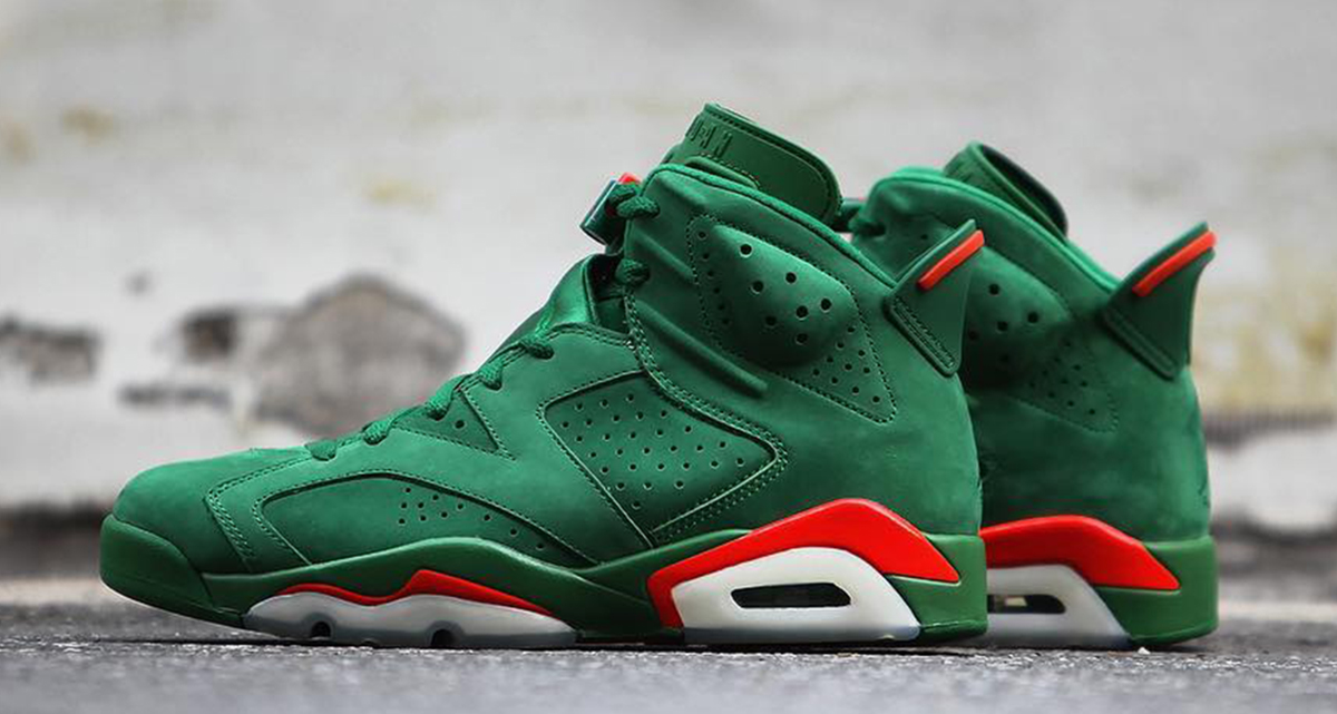 One last look at the Green Gatorade 6's