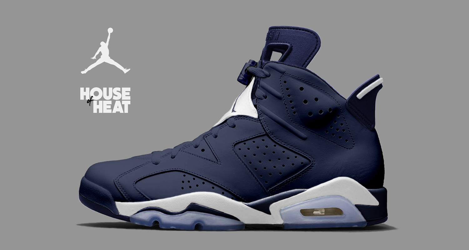 "The Concept Lab // Air Jordan 6 ""Alternate Midnight Navy"""