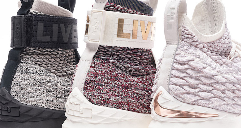 "KITH preview the LeBron 15 ""Three Kings"" collection"