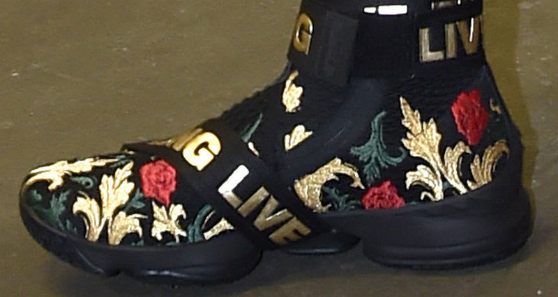 "A second ""Floral"" LeBron 15 surfaces"