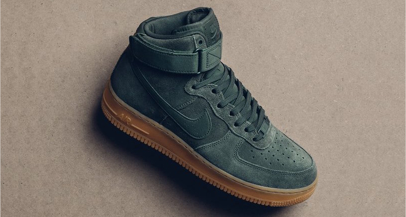 "This ""Vintage Green"" Air Force 1 High is available now"