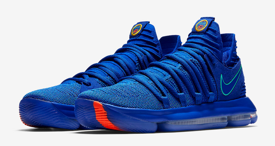 """The Nike KD 10 """"City Edition"""" releases next week"""