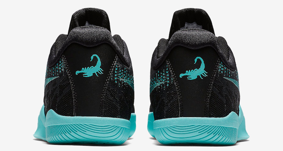 Kobe's new signature sneakers come with scorpion details