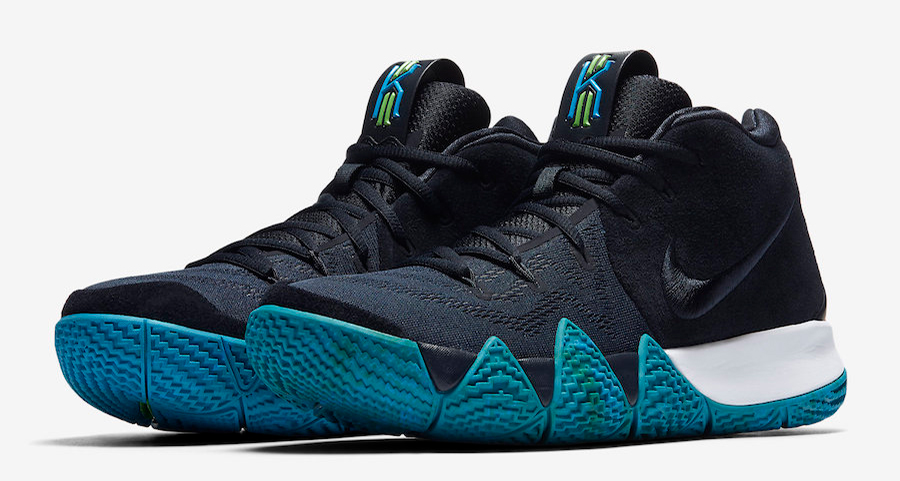 """The Nike Kyrie 4 """"Obsidian"""" gets a Release Date"""