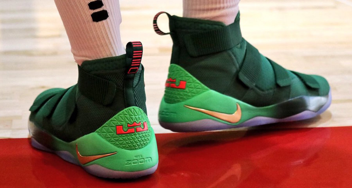 Preview two of Nike Basketball's Christmas PE's