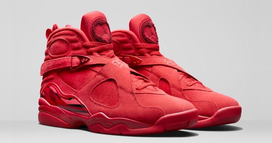 An official look at the Valentines Day Air Jordan 8