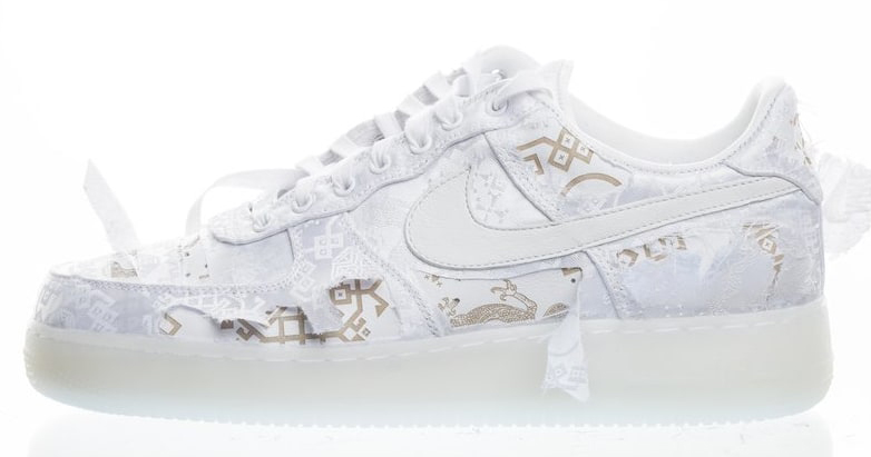 Clot officially unveil their Nike Air Force 1 Low