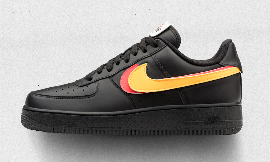 Swap Swooshes on these Air Force 1's