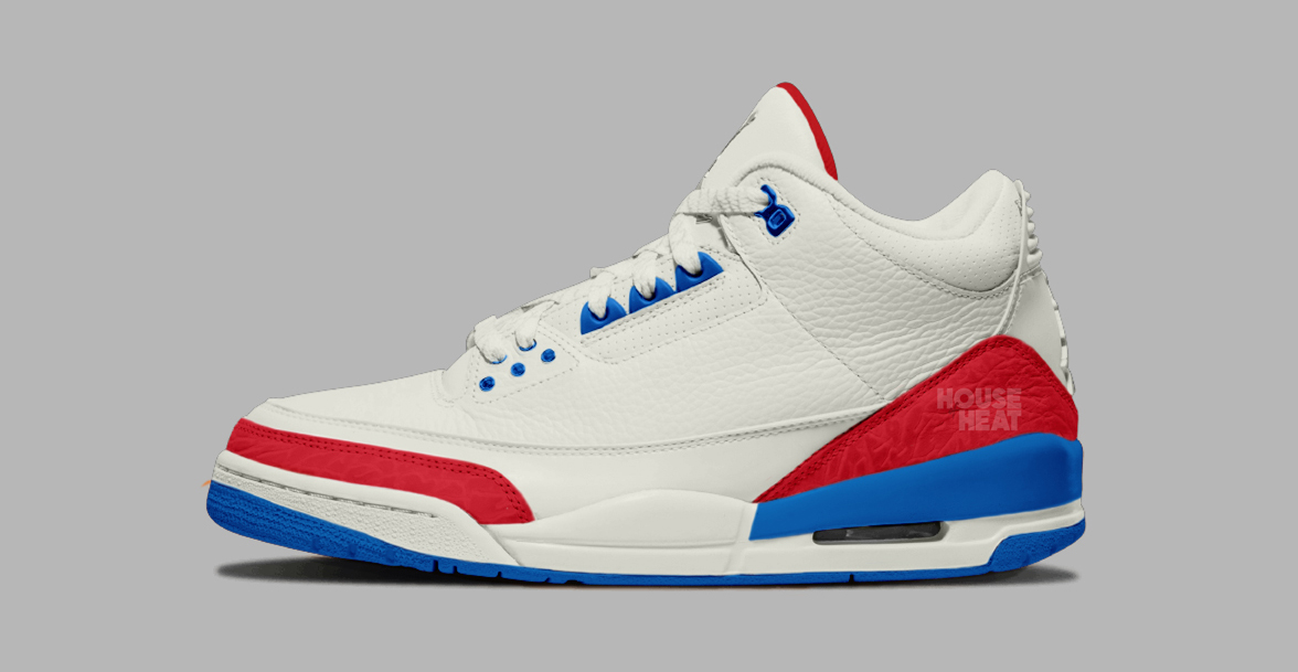There's a USA-themed Air Jordan 3 on the way