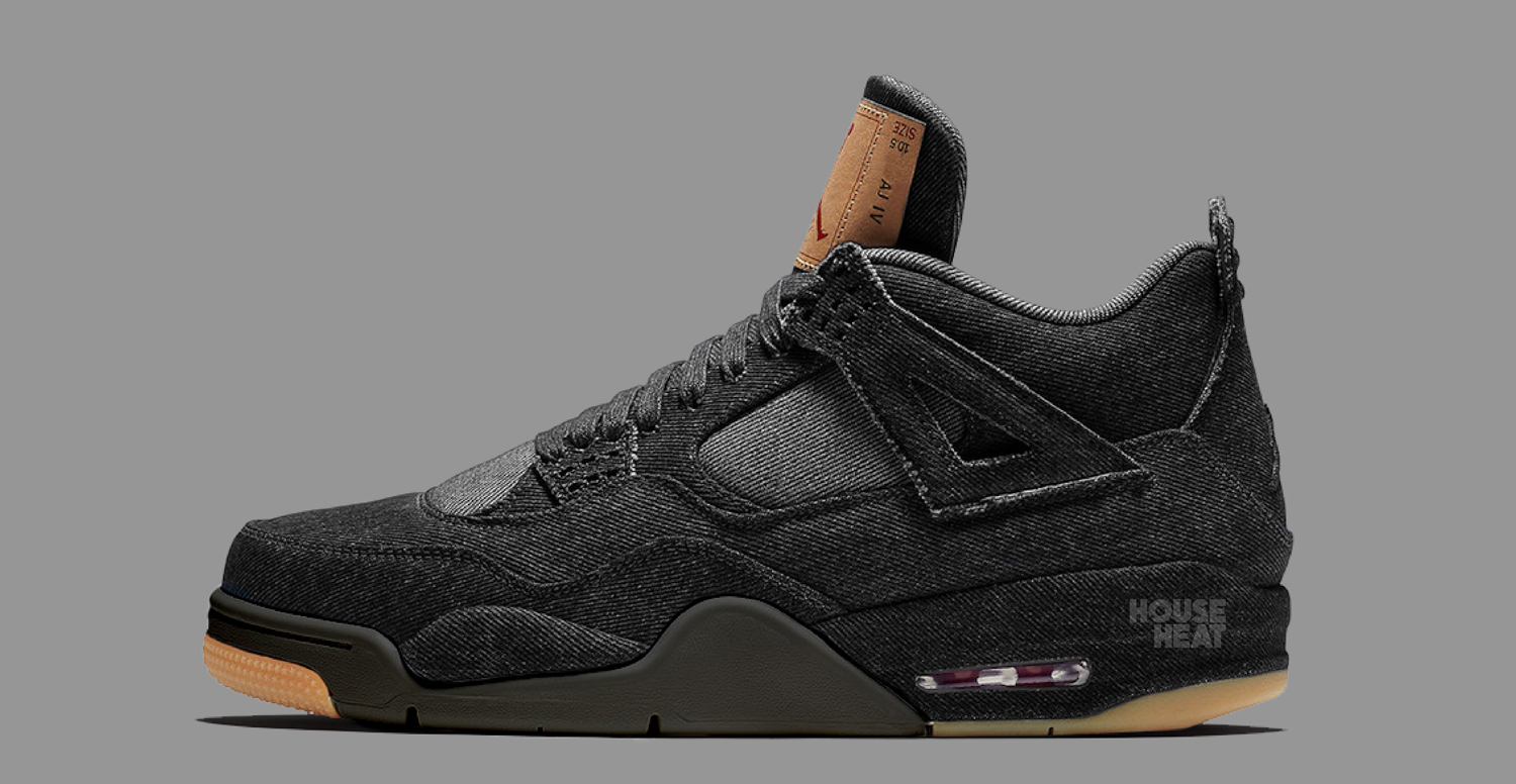 "The Concept Lab : Levi's x Air Jordan 4 ""Black Denim"""
