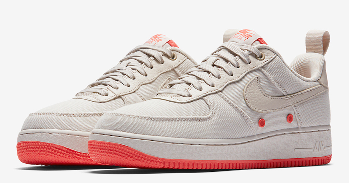 Canvas is coming back for the Air Force 1
