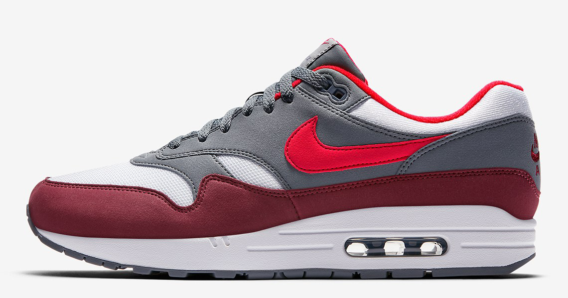"The ""Team Red"" Air Max 1 is available now"